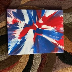 Spin art painty